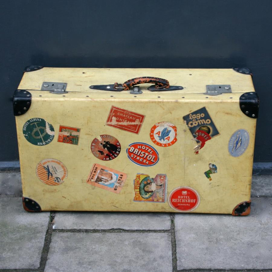 Canvas Travel Trunk - The Architectural Forum