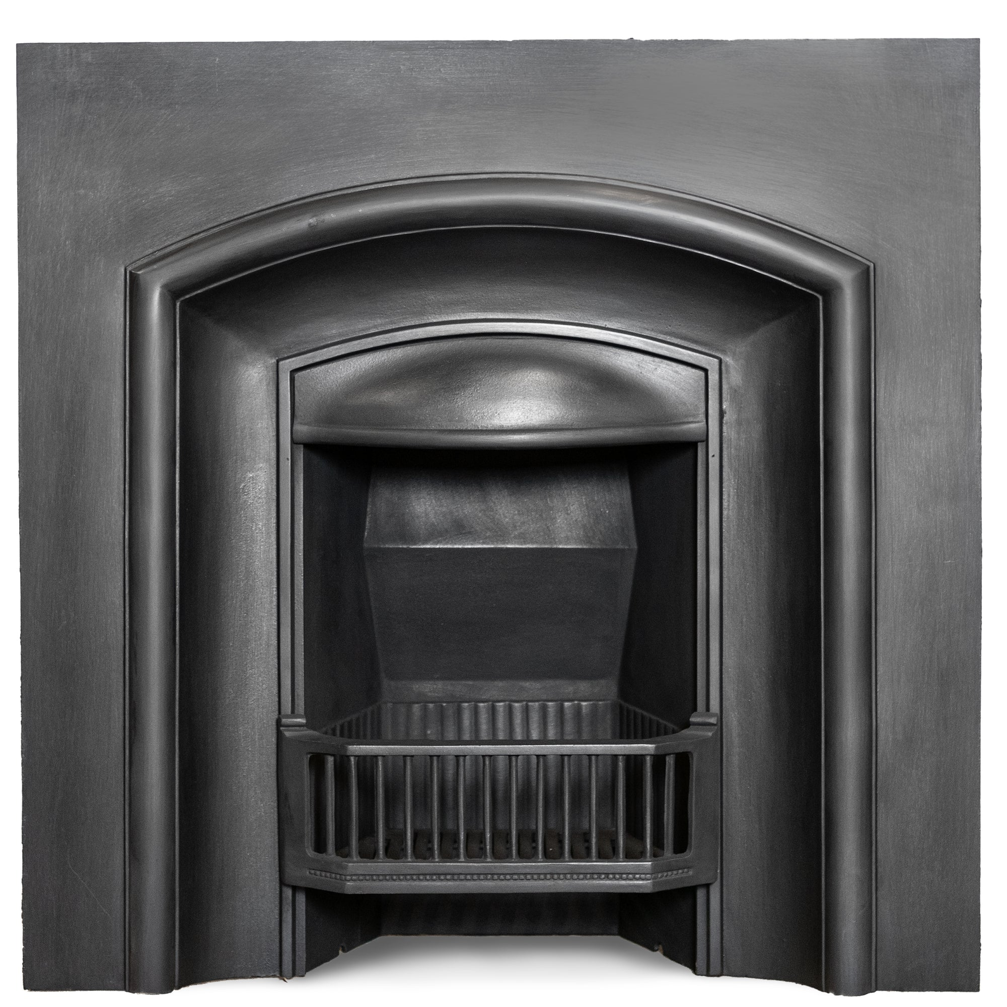Reclaimed Cast Iron Fireplace Insert | The Architectural Forum