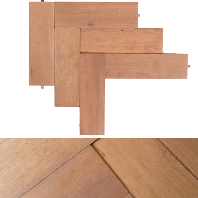 Reclaimed Hardwood Parquet Flooring 45m² Available - architectural-forum