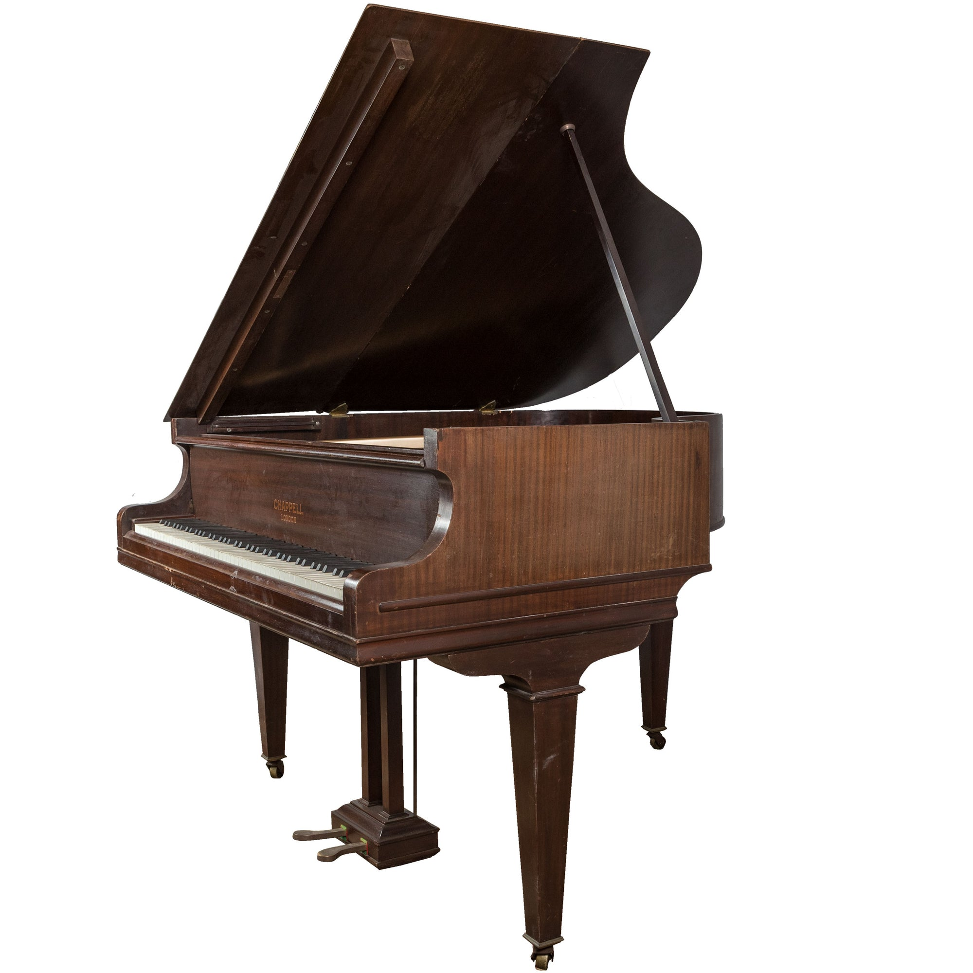 Reclaimed Chappell Baby Grand Piano in Mahogany Circa 1930