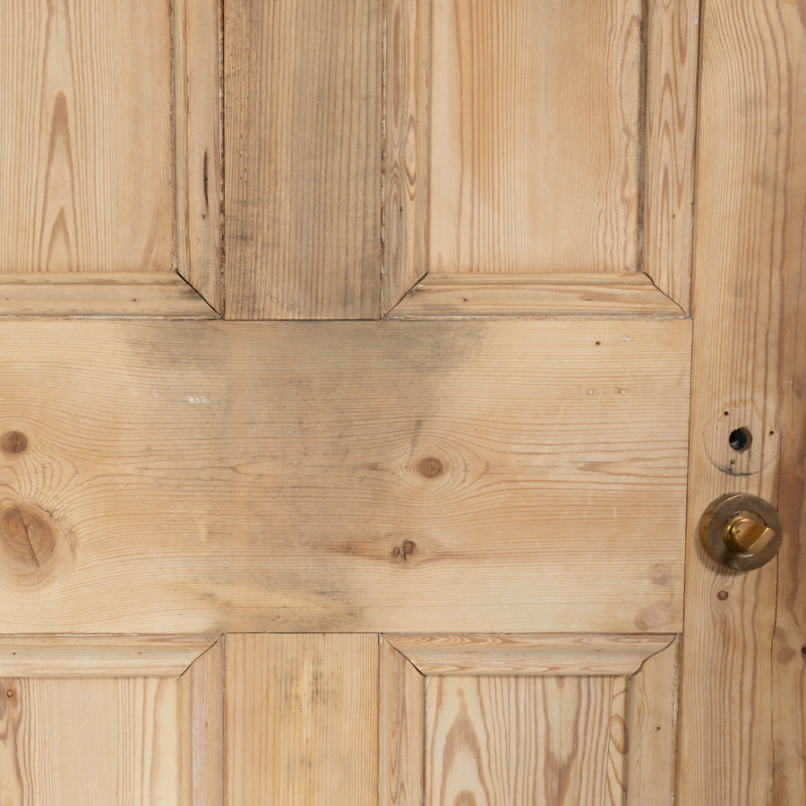 Reclaimed Solid Pine Door Stripped - 193.5cm x 75cm