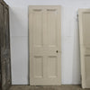 Antique Victorian 4 Panel Door - 199.5cm x 80cm