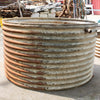 Reclaimed Culvert Corrugated Pipe Planter - architectural-forum