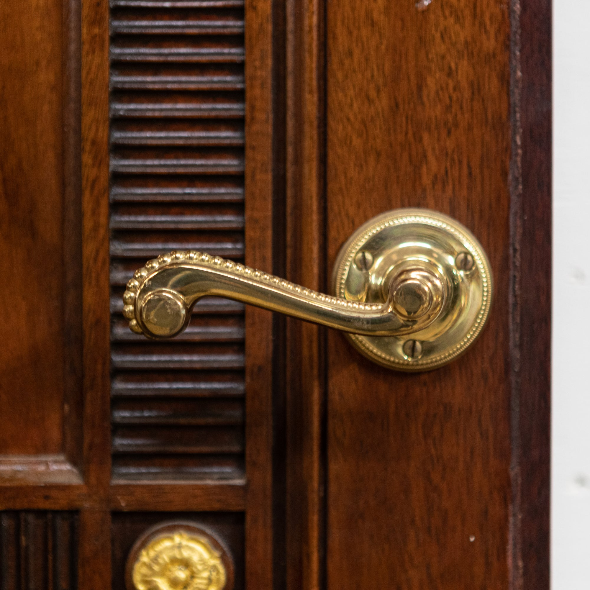 Ornate Carved Mahogany Doors Reclaimed From Graff London | The Architectural Forum