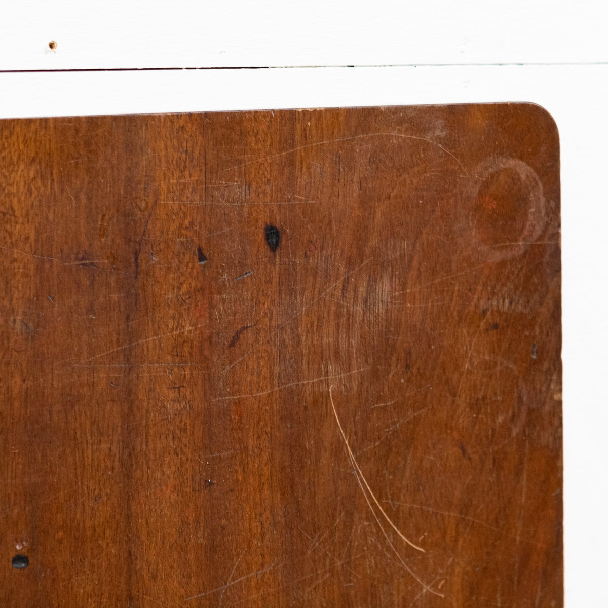 Reclaimed Teak / Iroko Worktop 120cm X 119cm | The Architectural Forum