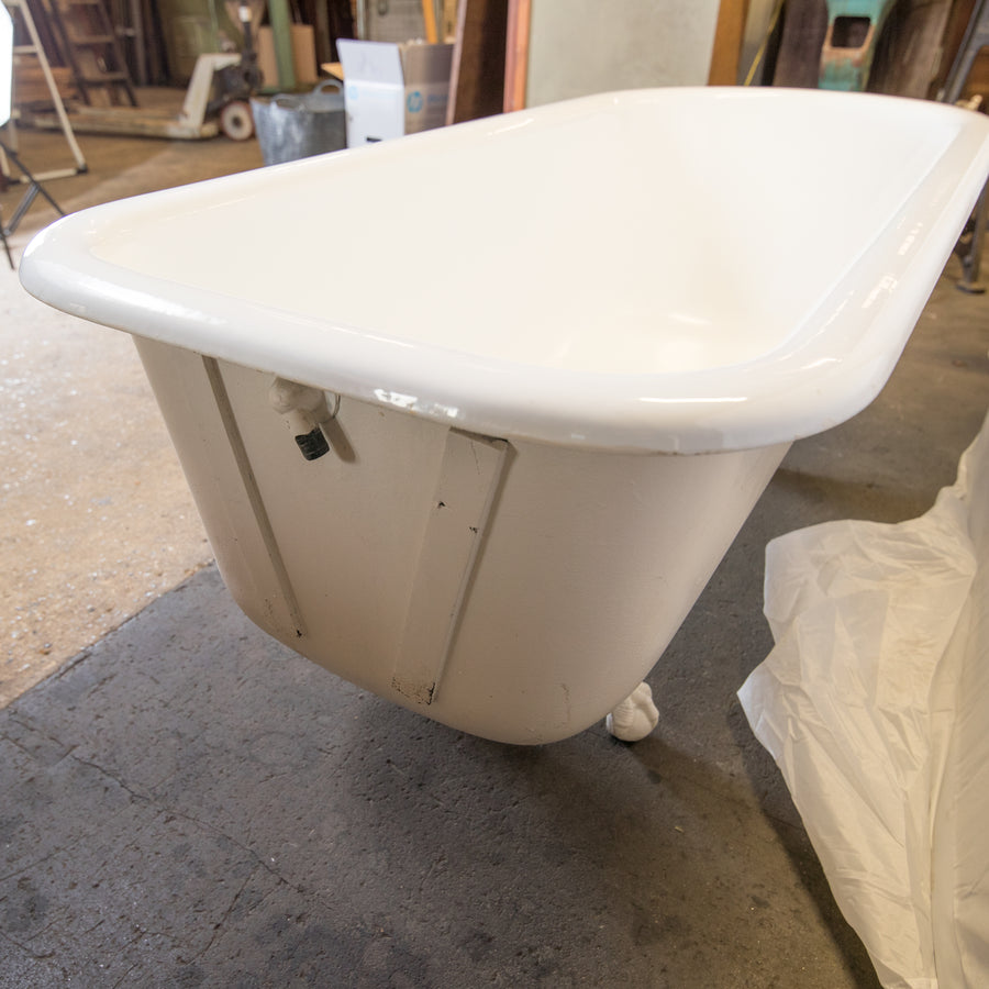 Cast Iron Roll Top Bath Tub