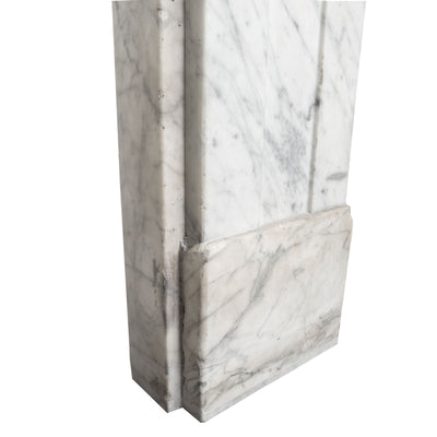 Antique Georgian Carrara Fireplace Surround - The Architectural Forum