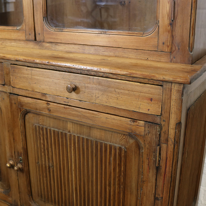 19th Century Pitch Pine Continental Dresser - architectural-forum