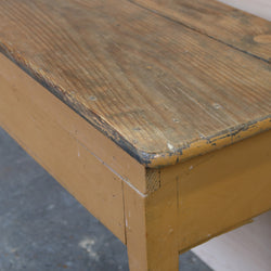 Antique Pine Table with Folding Top