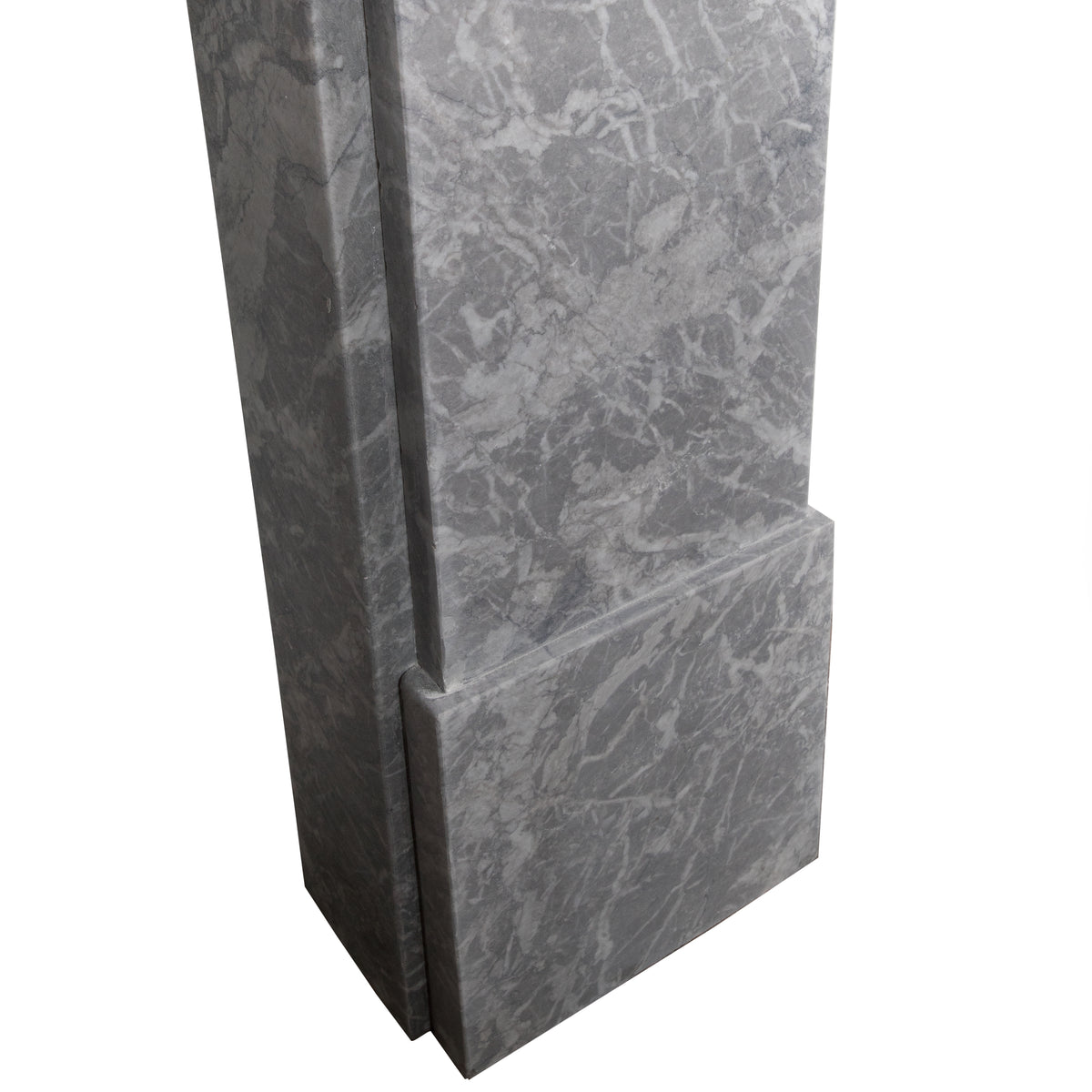Victorian Style Grey Marble Fireplace Surround | The Architectural Forum
