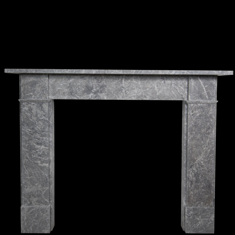 Victorian Style Grey Marble Fireplace Surround - architectural-forum