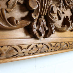 hand carved surround