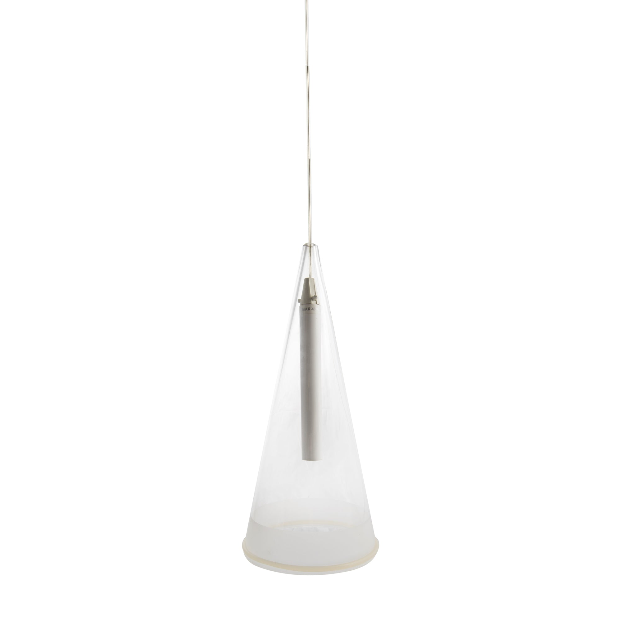 Reclaimed Flos Fucsia Cone Suspended Light
