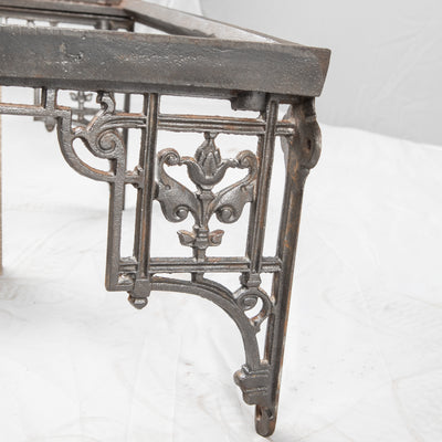 Antique Victorian Cast Iron Sink Bracket - The Architectural Forum