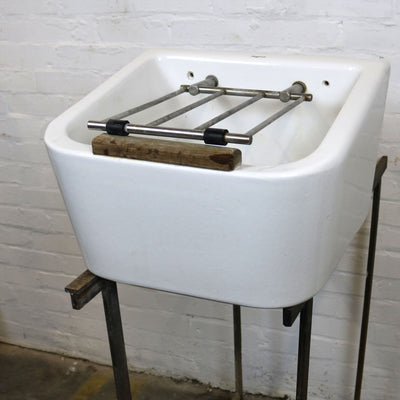 Antique Twyfords Ceramic Mop Sink - The Architectural Forum
