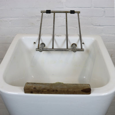 Antique Twyfords Ceramic Mop Sink - architectural-forum