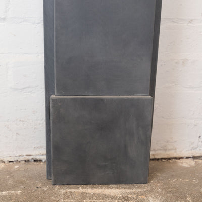 Late Georgian/Victorian Style Natural Slate Fireplace Surround - architectural-forum