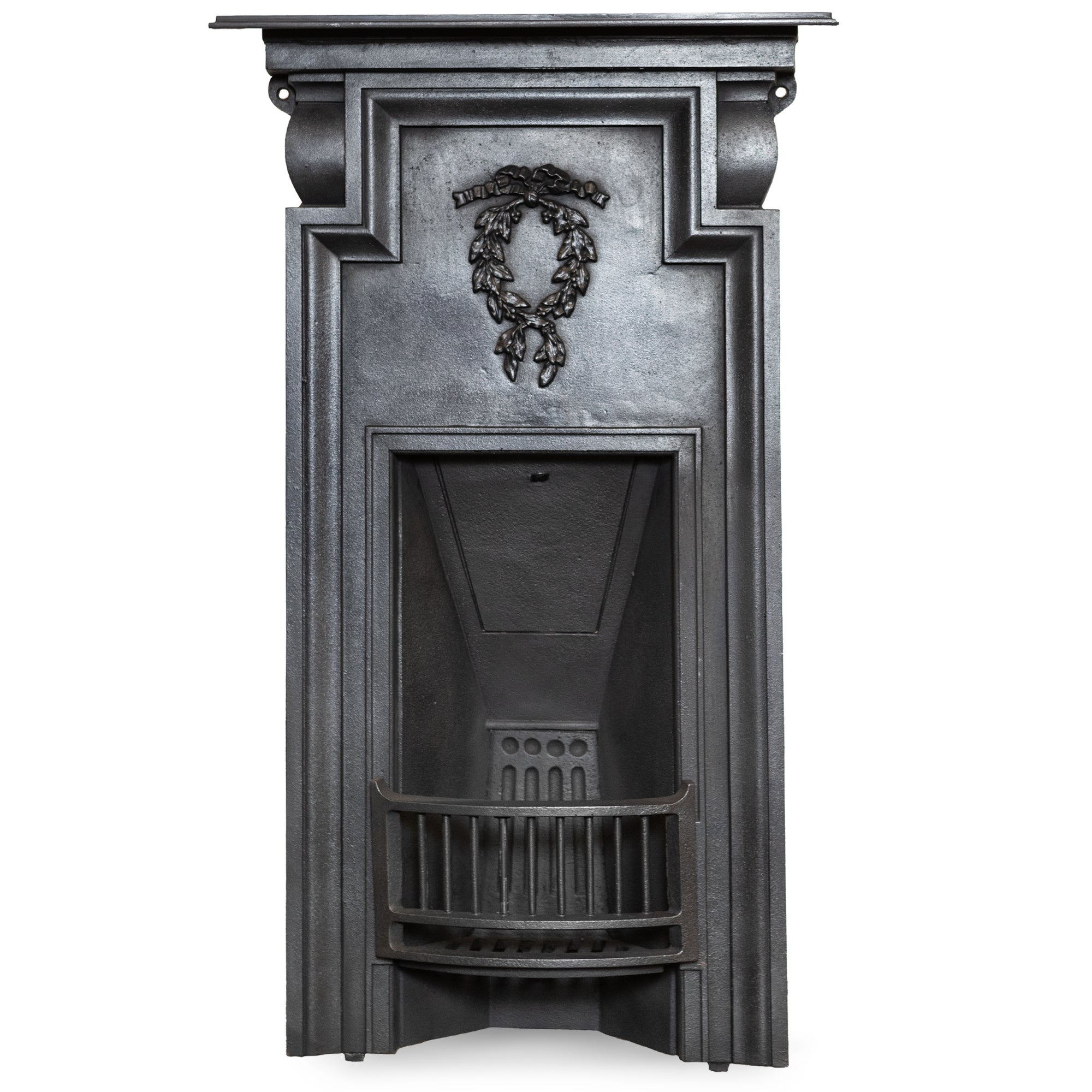 Antique Edwardian Cast Iron Combination Fireplace | The Architectural Forum
