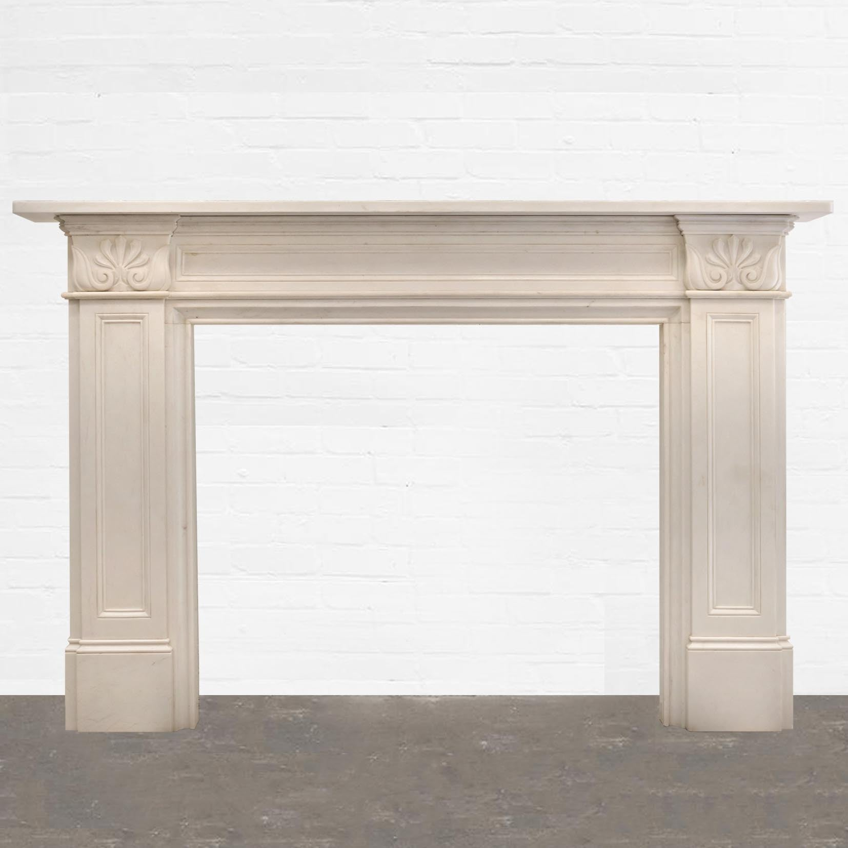 Statutory Marble Fireplace Surround - architectural-forum