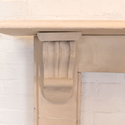 Antique Purbeck Stone Fireplace Surround - The Architectural Forum