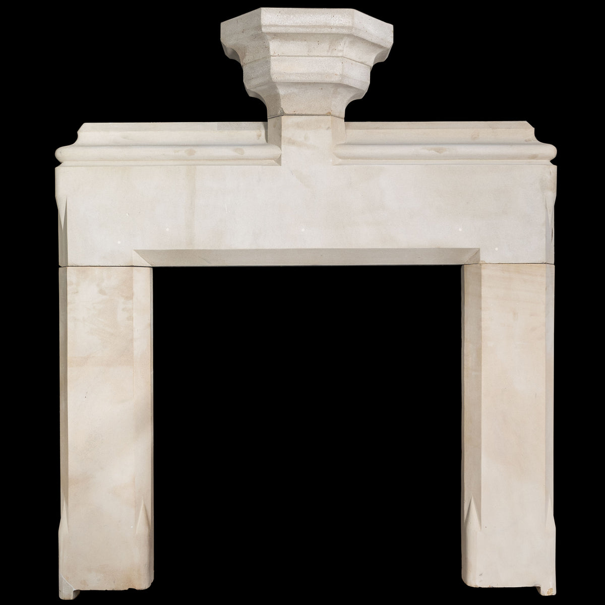 Antique Sandstone Fireplace Surround | The Architectural Forum