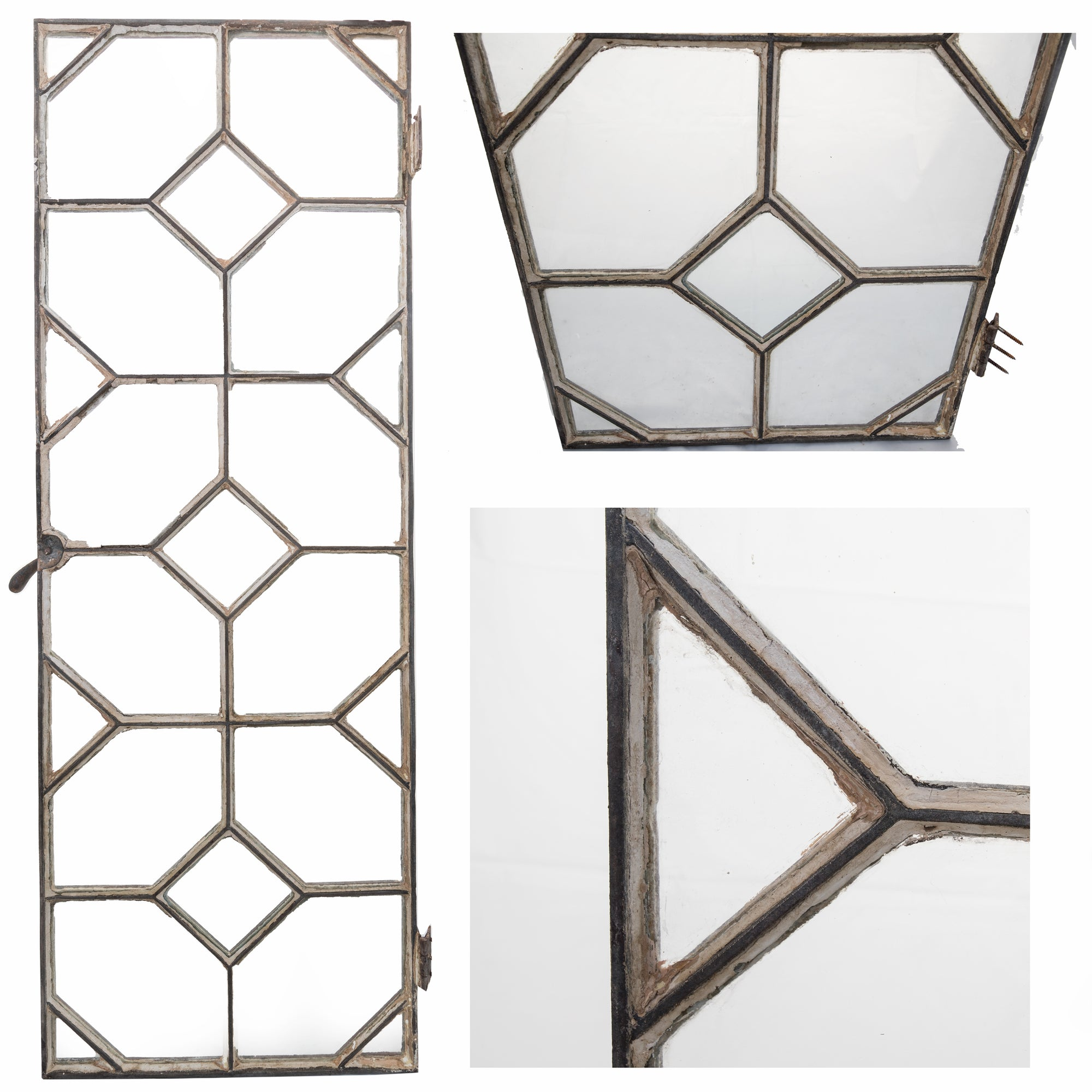 Reclaimed Late 19th Century Crittall Style Honeycomb Window Panels | The Architectural Forum