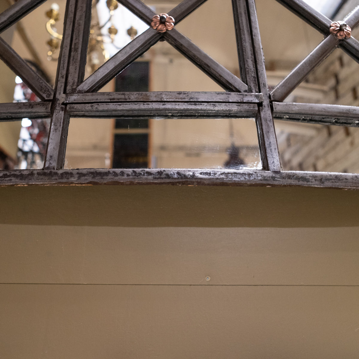 Transformed Antique Tate Britain Gallery Window Frame Mirror | The Architectural Forum