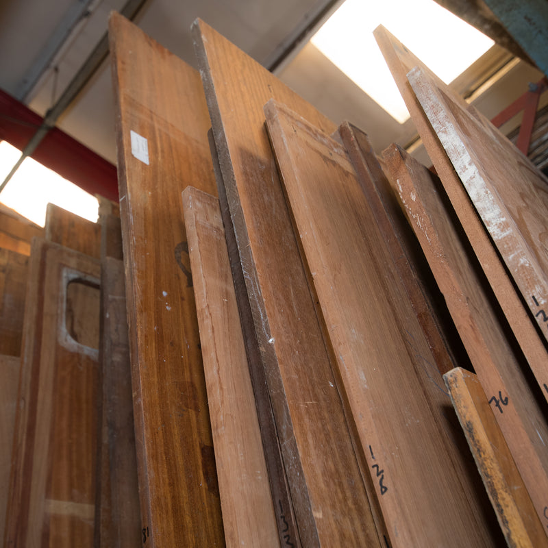 Reclaimed Solid Teak & Iroko Worktops - architectural-forum