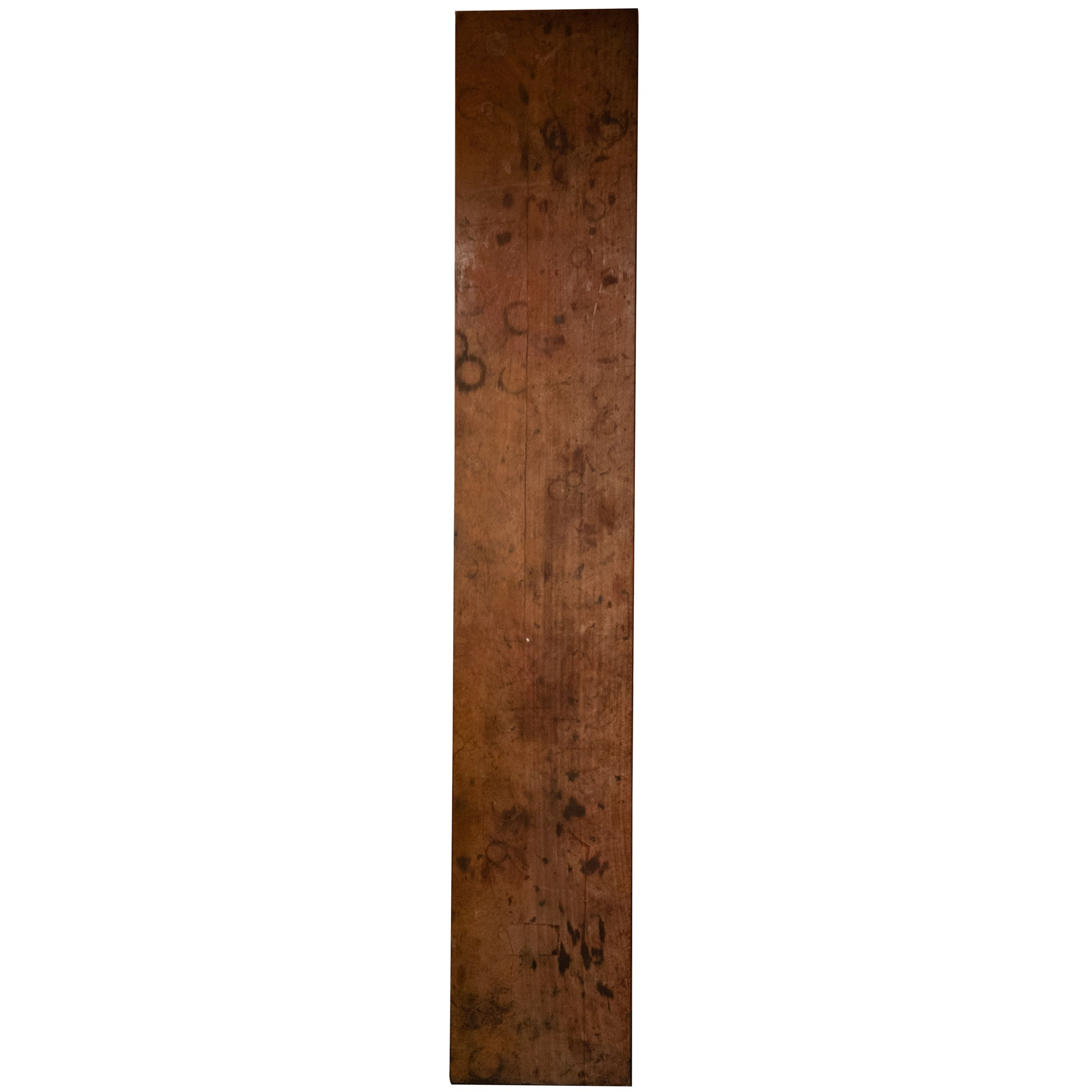 Reclaimed Teak / Iroko Worktop 356 X 60cm - architectural-forum