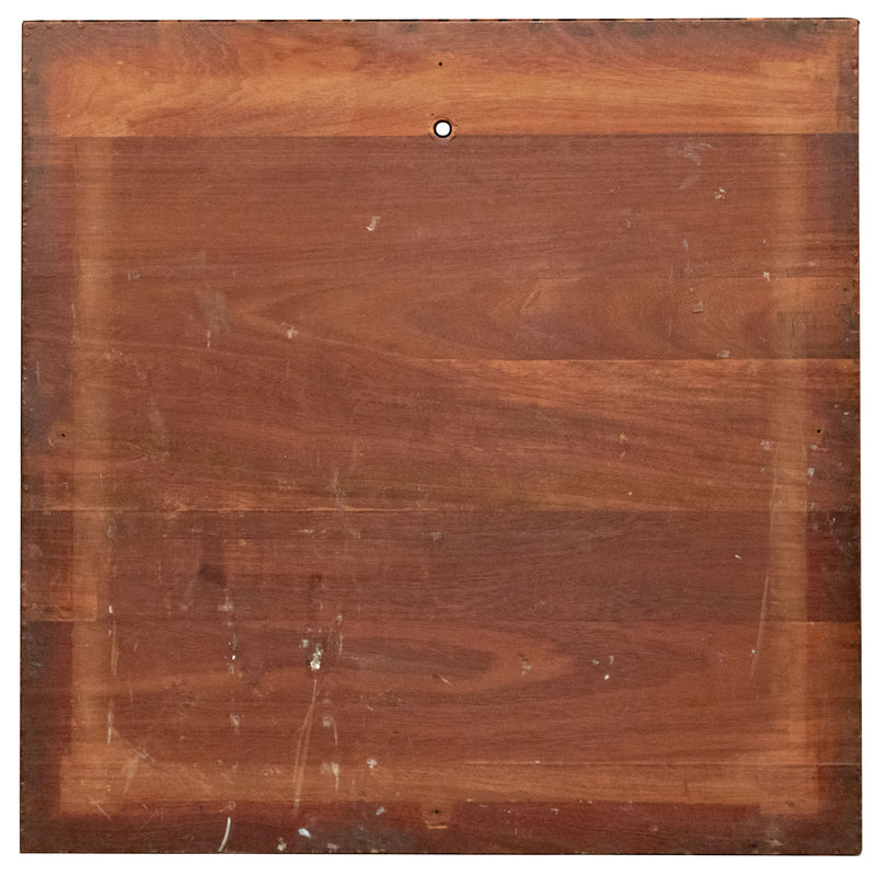 Reclaimed Teak/Iroko Worktop 100 X 99cm - architectural-forum
