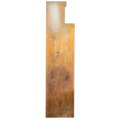 Reclaimed Teak / Iroko Worktop 327.5 X 76cm - architectural-forum