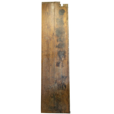 Reclaimed Teak / Iroko Worktop 312.5 X 76.5cm - architectural-forum