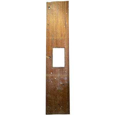 Reclaimed Teak / Iroko Worktop 315 X 63.5cm - architectural-forum