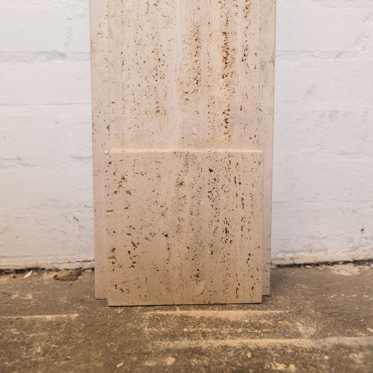 Georgian/Victorian Style Travertine Marble Fireplace Surround | The Architectural Forum