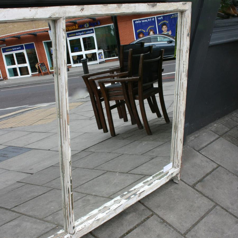 Sash window mirror