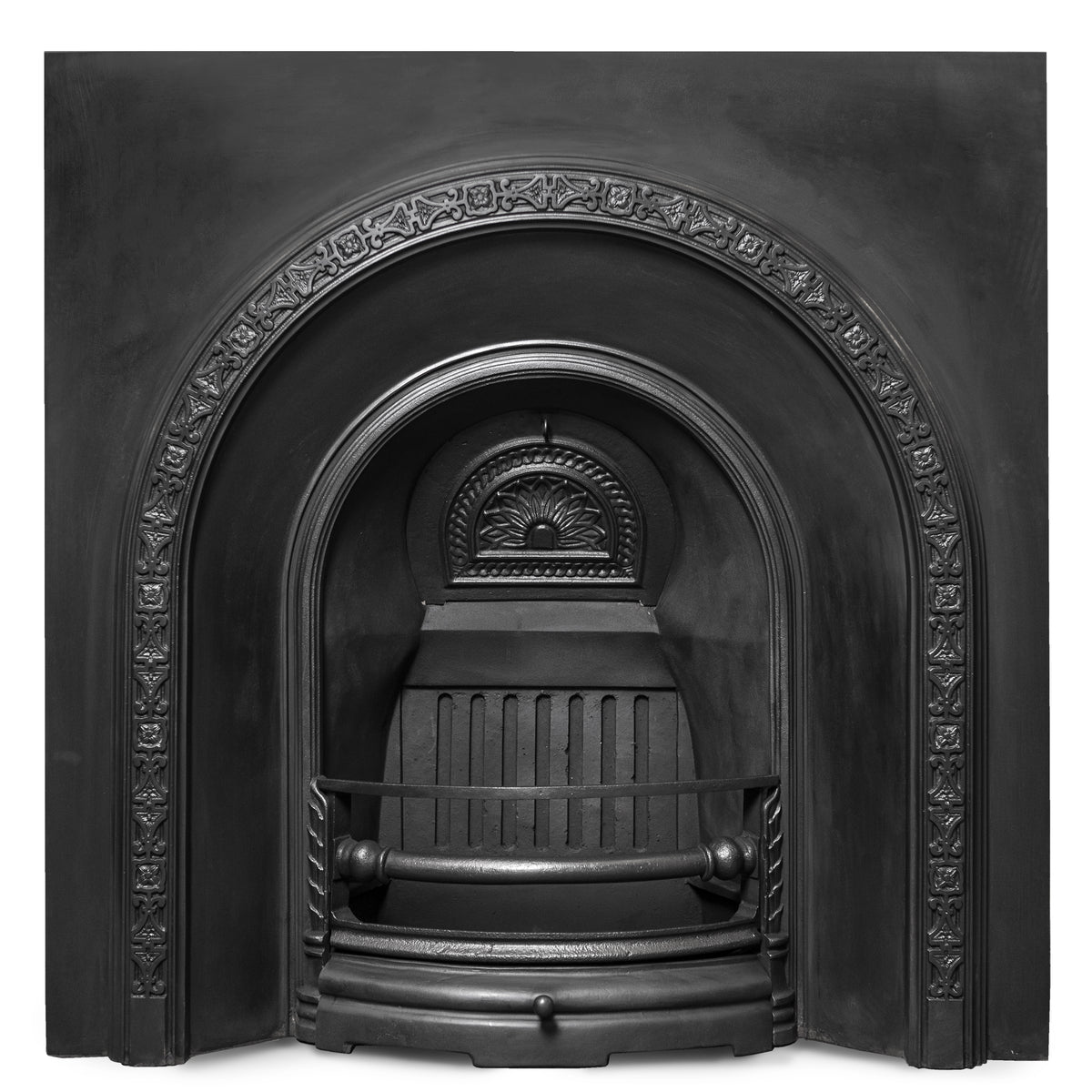 Antique Victorian Cast Iron Arched Insert | The Architectural Forum