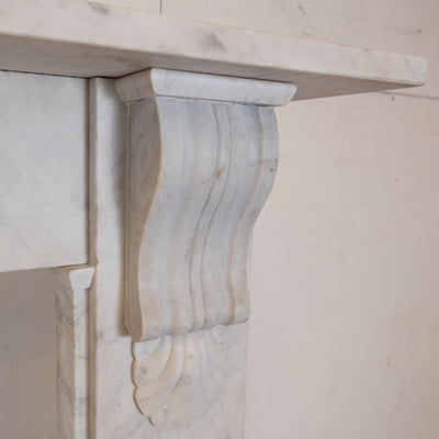 Antique Victorian Marble Surround with Corbels - The Architectural Forum