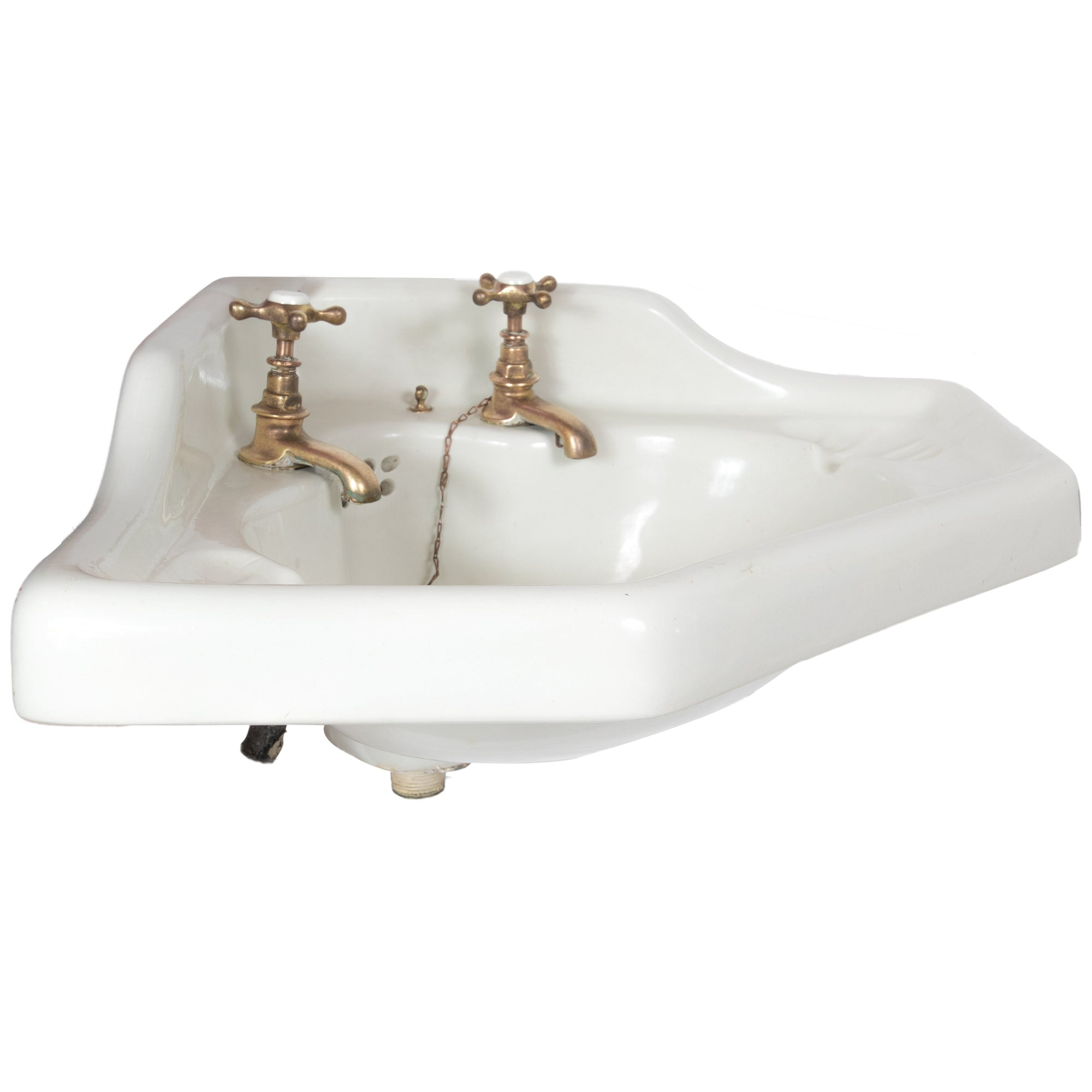 Antique Victorian Corner Sink
