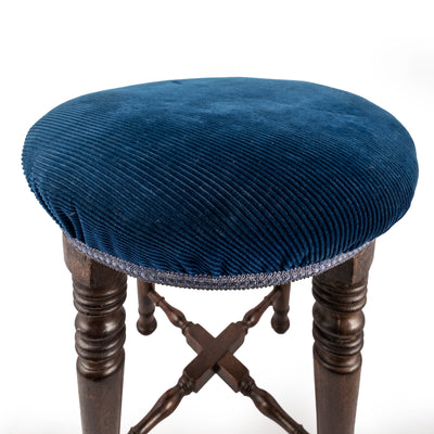 Antique Victorian Pub Stool - The Architectural Forum
