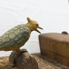 Vintage Woodpecker Bird Cigarette Dispenser