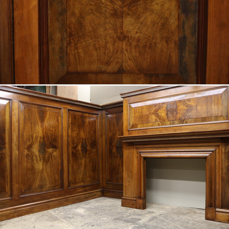 Complete Antique Panelled Room in Walnut - The Architectural Forum