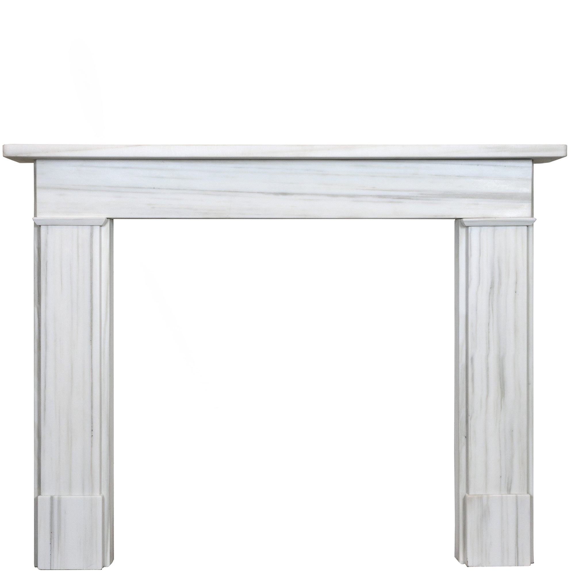 Georgian Style Pentelikon Marble Chimneypiece | The Architectural Forum