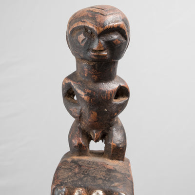 African Tribal Carved Wooden Fertility Chair - The Architectural Forum