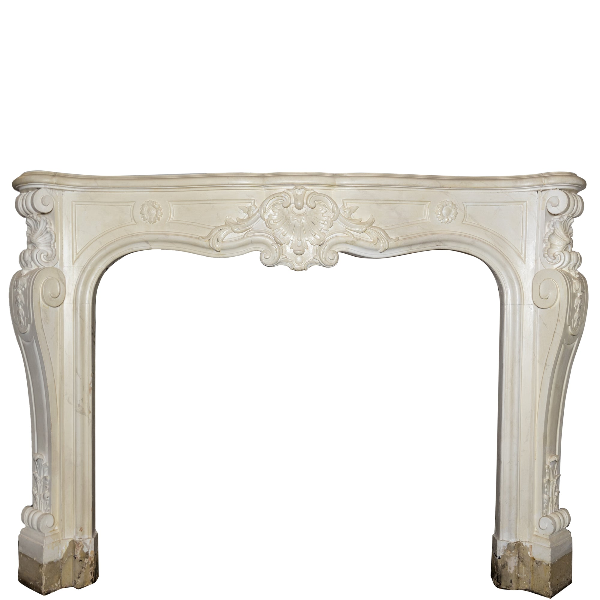 Antique Victorian Louis Style Wooden Fireplace Surround | The Architectural Forum
