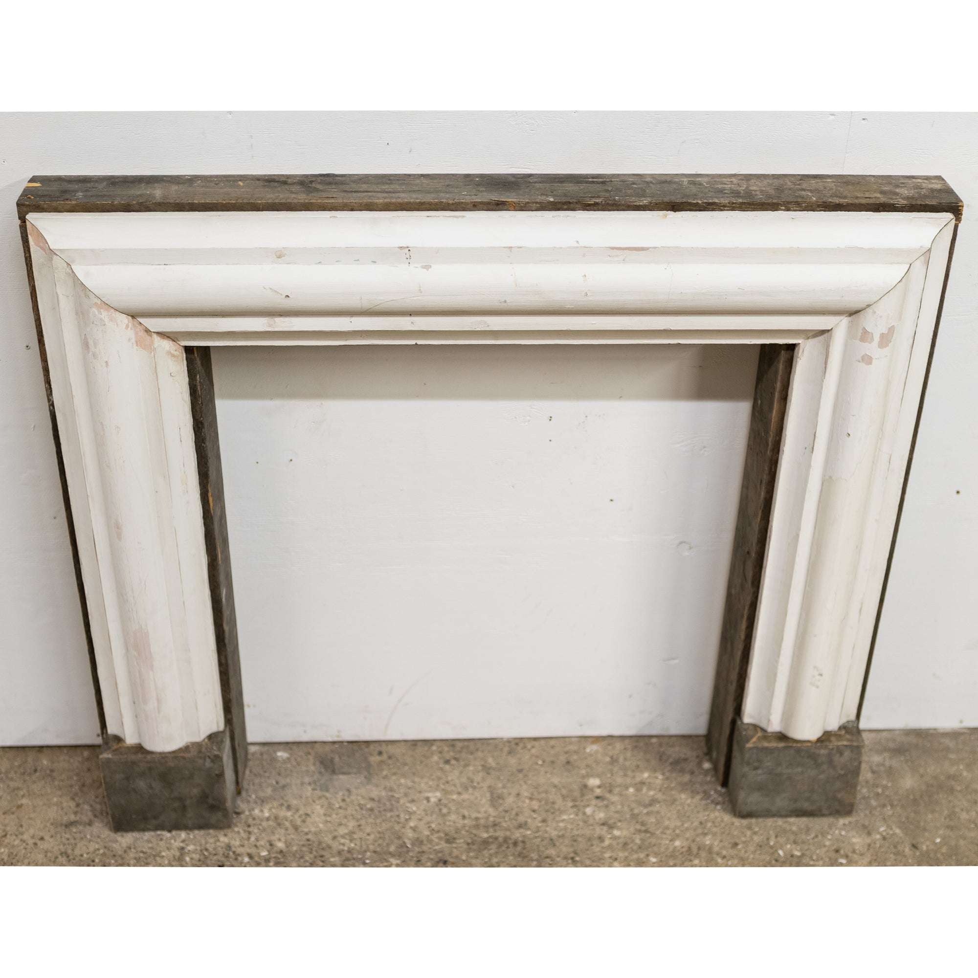 Bolection Fireplace Surround Crafted from Reclaimed Timber | The Architectural Forum