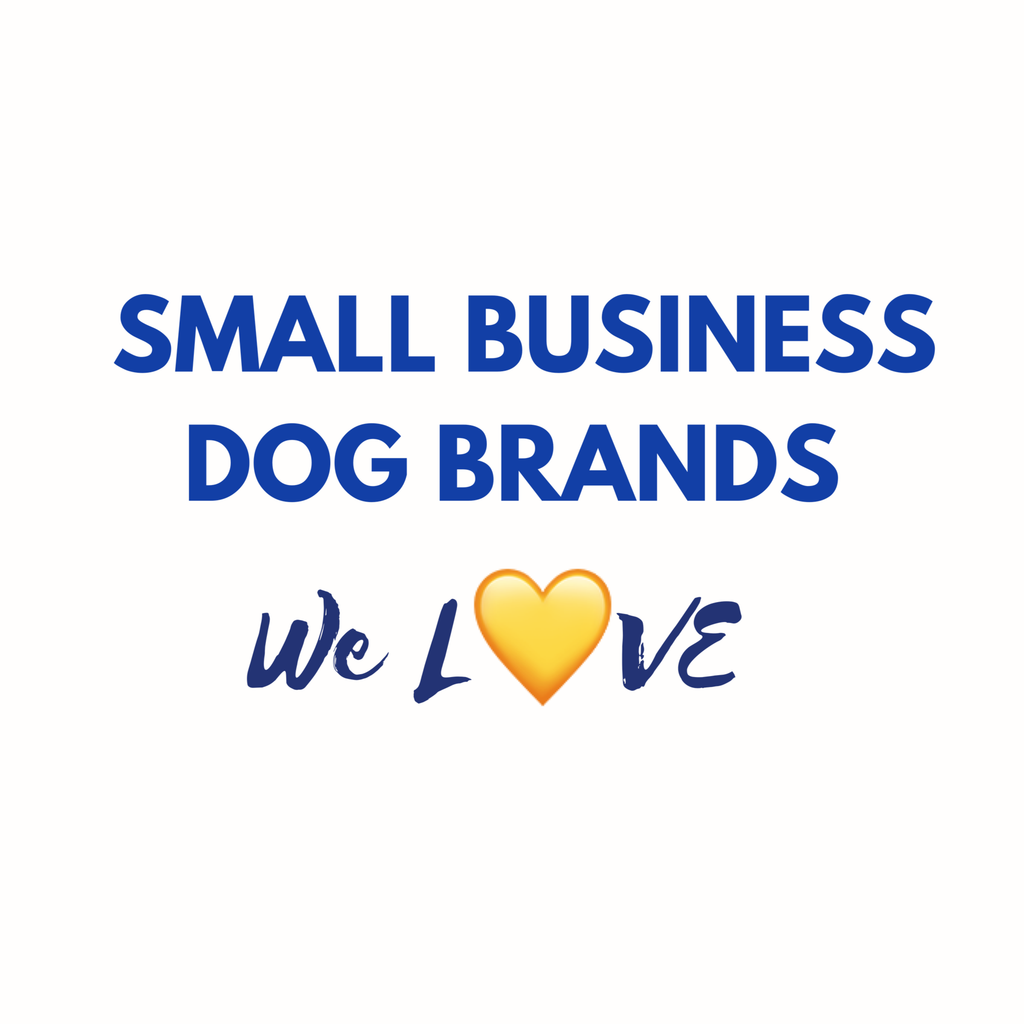 Small Business Dog Brands We Love