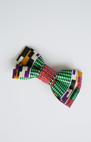 RETRO DOG BOW TIE