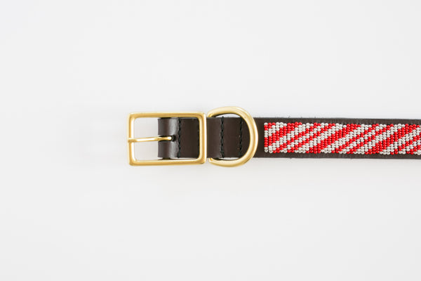 CANDYSTRIPES DOG COLLAR