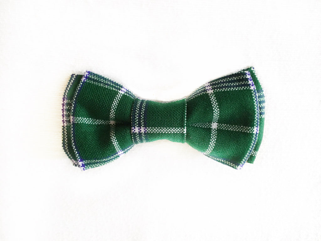 EVERGREEN DOG BOW TIE