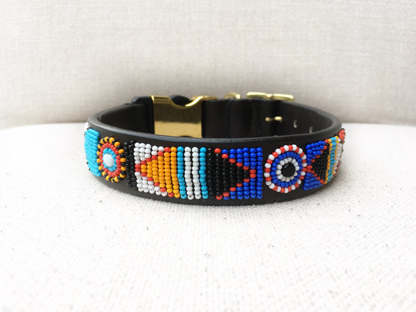 SERENGETI SUNSET STYLE-RELEASE DOG COLLAR